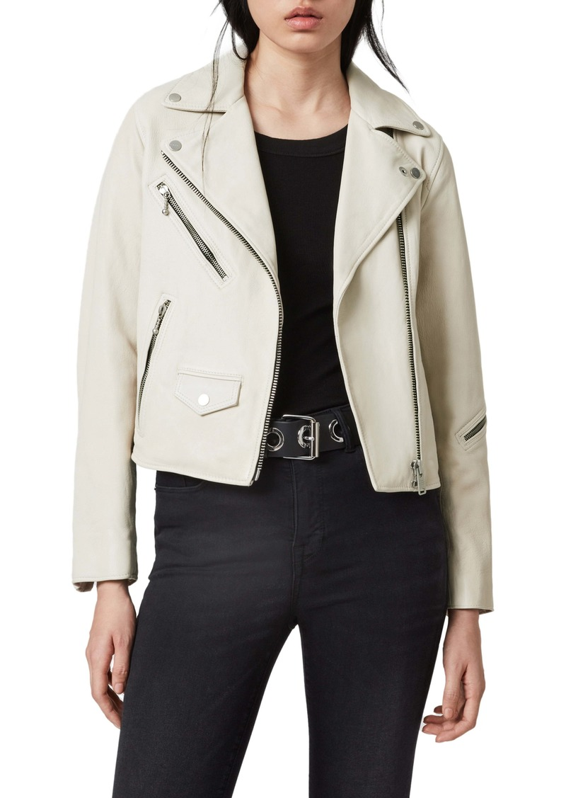 ALLSAINTS Riley Leather Moto Jacket