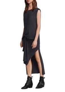 ALLSAINTS Riviera Ida Pintuck T-Shirt Dress