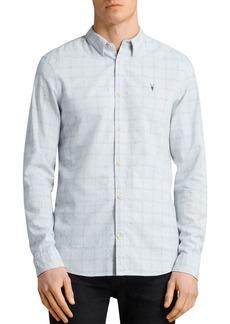 ALLSAINTS Rowhill Regular Fit Button-Down Shirt