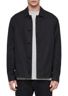 ALLSAINTS Ruston Classic Fit Poplin Jacket