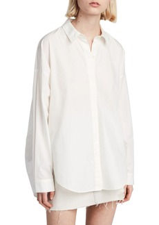 ALLSAINTS Sada Oversize Button Down Shirt
