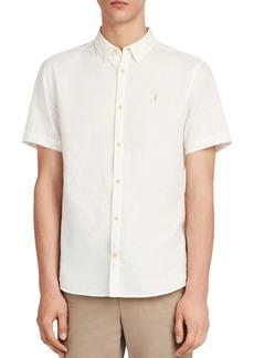 ALLSAINTS Sanborn Short Sleeve Sport Shirt
