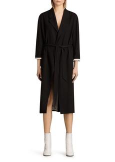 ALLSAINTS Sandra Belted Mac Coat