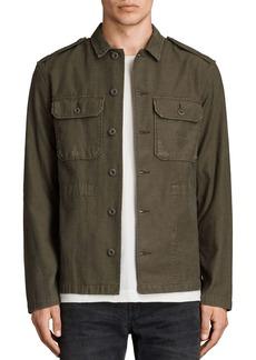 ALLSAINTS Sapper Slim Fit Button-Down Shirt