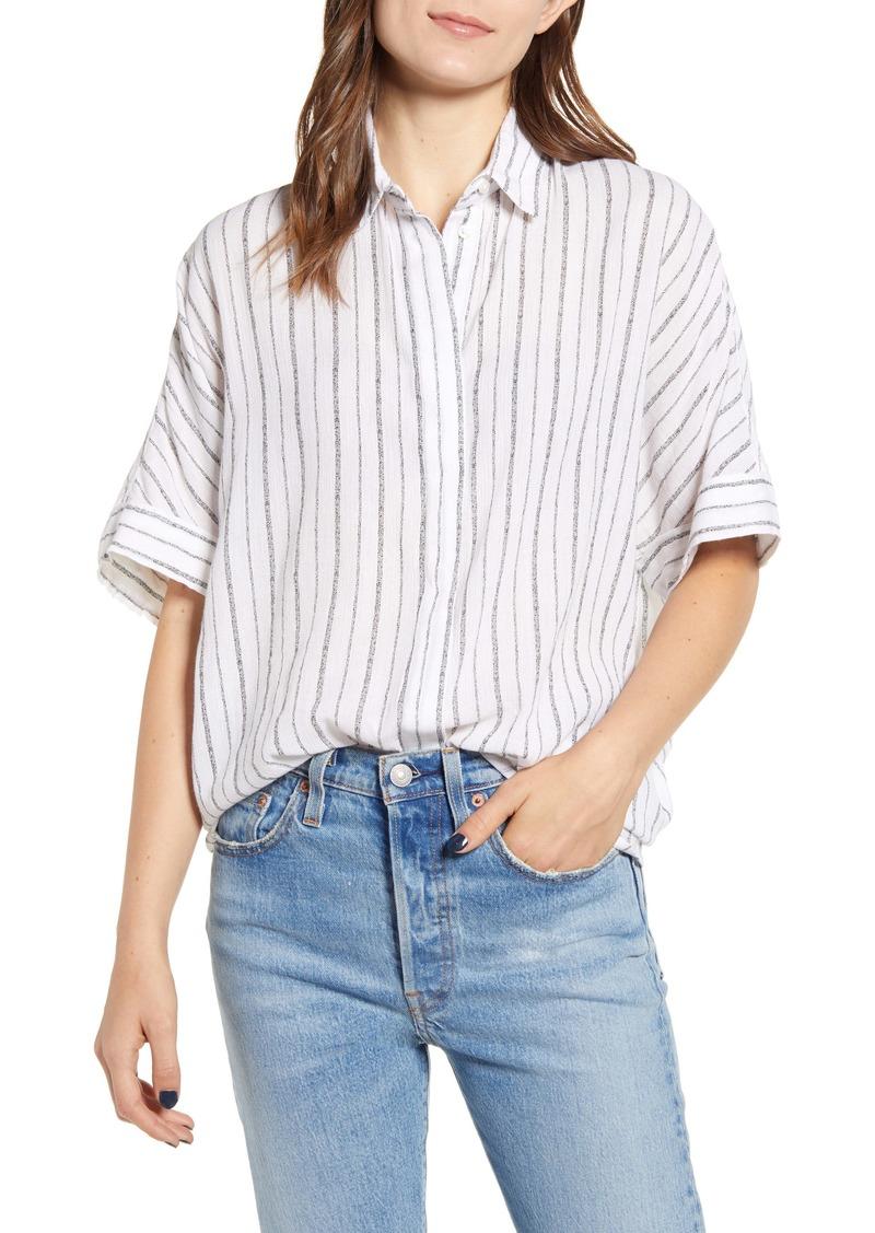 ALLSAINTS Saria Stripe Shirt