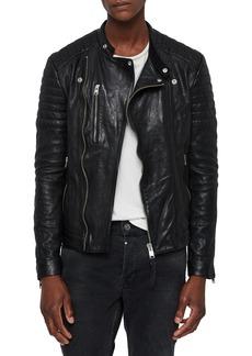 ALLSAINTS Sarls Leather Biker Jacket