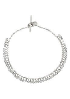 ALLSAINTS Shaky Crystal Collar Necklace