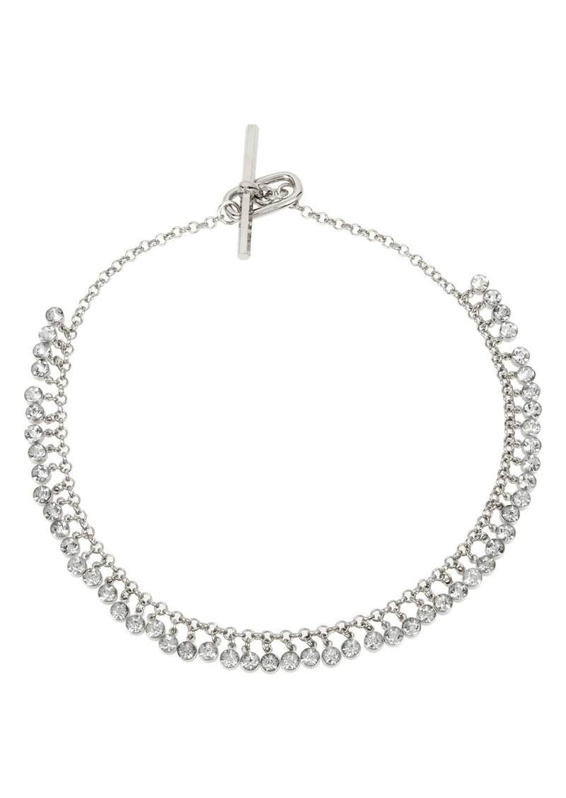 ALLSAINTS Shaky Crystal Collar Necklace