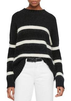 ALLSAINTS Siddons Stripe Wool Blend Sweater