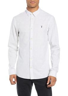 ALLSAINTS Slim Fit Cotton Sport Shirt