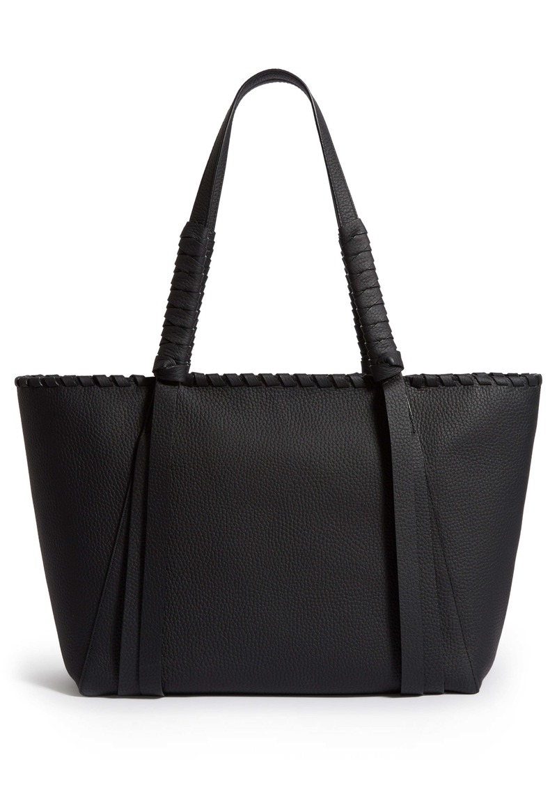 ALLSAINTS Small Kepi East/West Leather Tote
