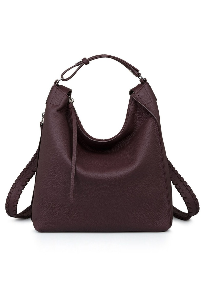 7d99c4c2a8 AllSaints ALLSAINTS Small Kita Convertible Leather Backpack