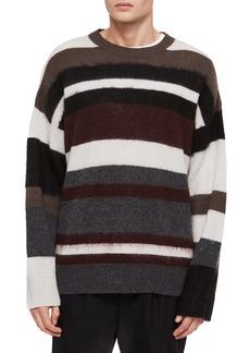 ALLSAINTS Striley Striped Wool Blend Sweater
