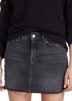 ALLSAINTS Studded Denim Skirt