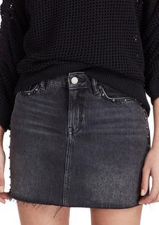 ALLSAINTS Studded Denim Skirt
