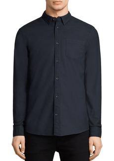 ALLSAINTS Stukeley Slim Fit Button-Down Shirt