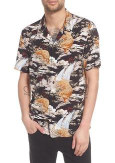ALLSAINTS Sumatra Regular Fit Short Sleeve Sport Shirt