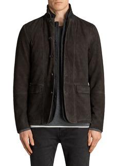 ALLSAINTS Survey Leather Blazer
