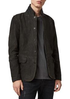 ALLSAINTS Survey Slim Fit Leather Blazer