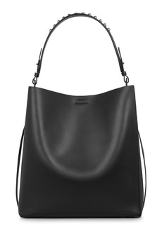 ALLSAINTS Suzi North/South Leather Tote