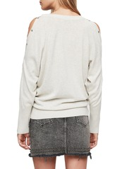 1dadbb7d44d ALLSAINTS Suzie Snap Sleeve Sweater ALLSAINTS Suzie Snap Sleeve Sweater