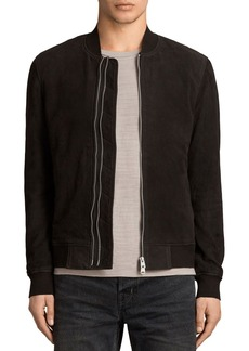 ALLSAINTS Tally Suede Bomber Jacket