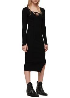 53de35f845 SALE! AllSaints ALLSAINTS Kowlo Two-Piece Sweater   Slipdress