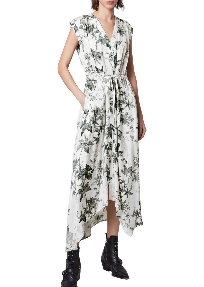 ALLSAINTS Tate Evolution Floral Print Shirtdress