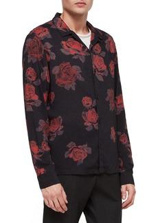 ALLSAINTS Thorn Revere Collar Sport Shirt