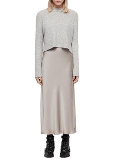 ALLSAINTS Tierny Two-Piece Sweater & Slipdress