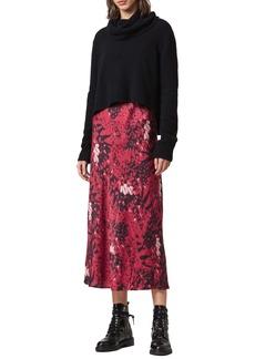 ALLSAINTS Tierny Wing 2-Piece Midi Dress