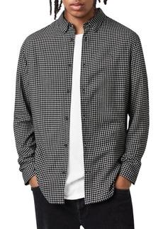 ALLSAINTS Tilden Long Sleeve Slim Fit Shirt