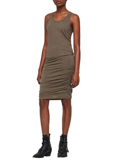 ALLSAINTS Toby Ruched Body-Con Dress