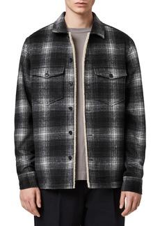 ALLSAINTS Tuleta Slim Fit Shirt Jacket