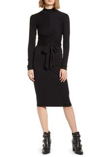 ALLSAINTS Veronika Long Sleeve Dress