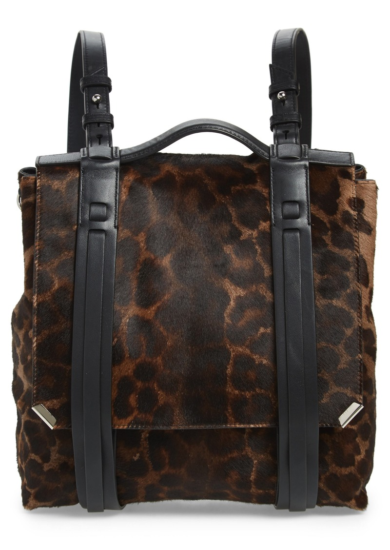3857c4981fc78 AllSaints ALLSAINTS Vincent Genuine Calf Hair Backpack | Handbags