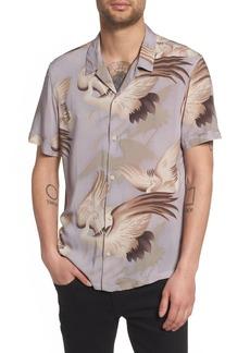ALLSAINTS Wader Regular Fit Short Sleeve Sport Shirt