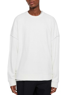 ALLSAINTS Warren Oversize Crewneck Sweater