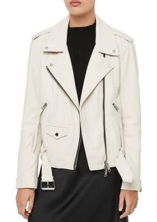 ALLSAINTS X Talia Leather Biker Jacket - 100% Exclusive