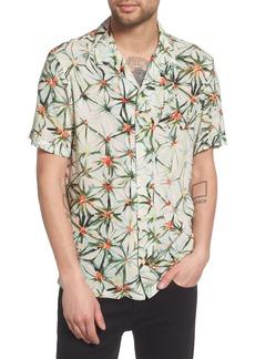 ALLSAINTS Yuka Regular Fit Short Sleeve Sport Shirt