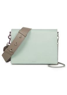 ALLSAINTS Zep Colorblock Leather Shoulder Bag