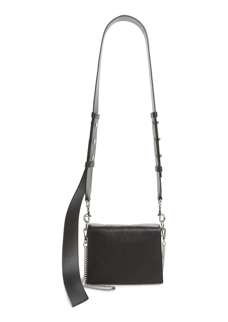 Allsaints Zep Leather Shoulder Bag