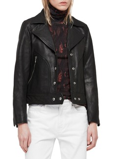 ALLSAINTS Zola Leather Moto Jacket