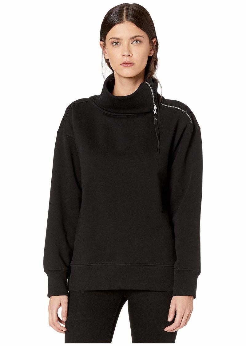 AllSaints Bella Zip Front Sweatshirt