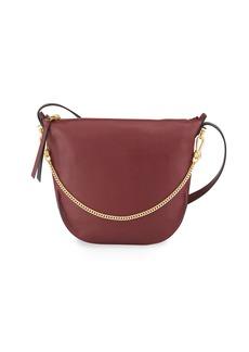 AllSaints Blake Leather Zip Shoulder Bag