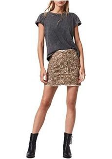 AllSaints Brellie Embroidered Skirt