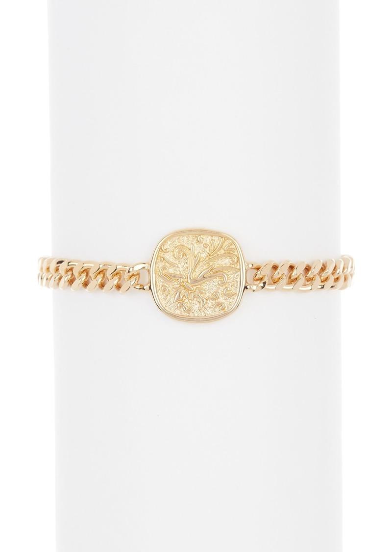 AllSaints Coin Link Bracelet