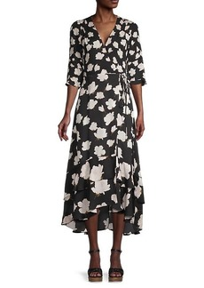AllSaints Delana Floral-Print Dress