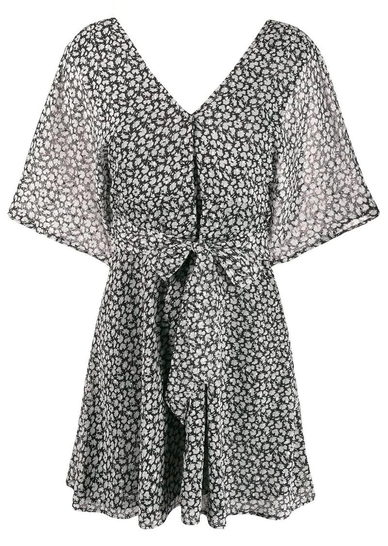 AllSaints floral print dress