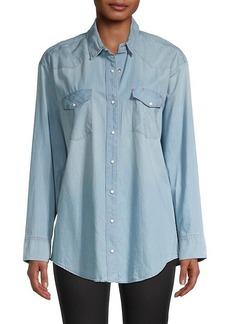 AllSaints Gemma Long-Sleeve Shirt